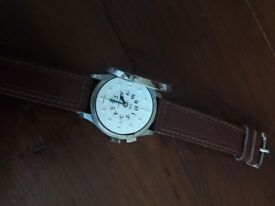 Braille wrist watch with strap visual impaired blind