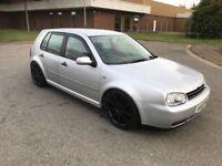 "2004 Volkswagen Golf 1.4 with 18"" alloys 5 door 12 months mot/3 months warranty"