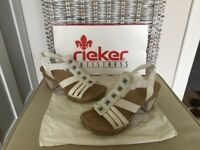 Rieker ladies sandals size 36. / 3 and a half