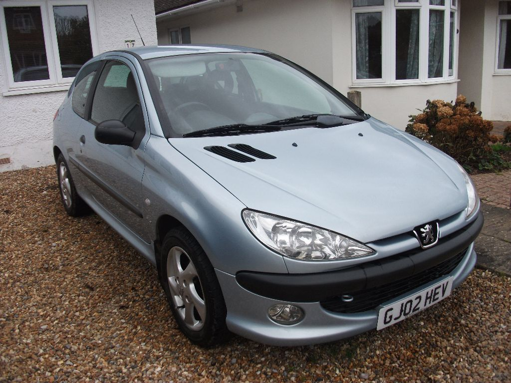 peugeot 206 2 0 hdi turbo diesel 2002 02 reg 1195 in bearsted kent gumtree. Black Bedroom Furniture Sets. Home Design Ideas