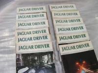 Jaguar Driver Magazines. 1987. Complete Year. 12 Issues
