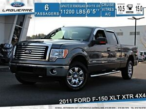 2011 Ford F-150 XLT*XTR*4X4*6PLACES*A/C*CRUISE**