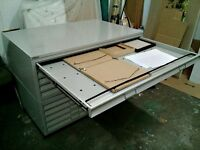 Bisley A0 steel Plan Chest like new