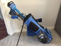CALLAWAY Junior Golf Clubs with bag and club covers