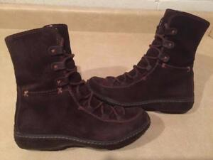 Women's Size 6M Timberland Waterproof Leather Winter Boots