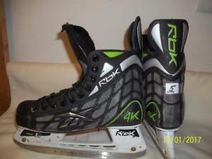 Junior Size 5 Skates (Four Pairs)