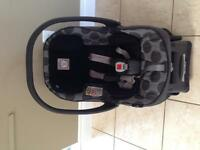 Peg Perego infant car seat SIP 30/30 pois grey