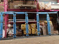 Miss measure 5 Pane Black Aluminium Glazed Bi-fold doors for sale - BNIP - Free local delivery