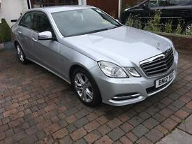 Mercedes E 220 CDi SE Executive Pack Blue efficiency