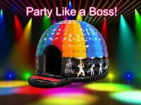 Fab deals on Bouncy Castle hire, Slides, Soft Play, Rodeo Bull, Bungee run hot tub hire disco dome