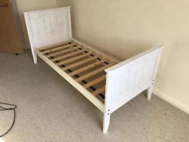 Children's wooden bed