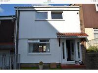 2 bedroom unfurnished house to let in Westwood East Kilbride