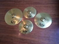 Wokingham Drum Sales - Sabian Solar Cymbal set with Sabian Cymbal Bag - Excellent