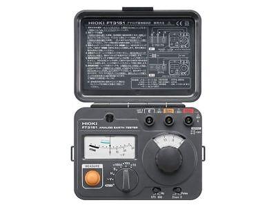 Hioki Ft3151 Ground Resistance Tester Analog Earth Tester 3-pole Method