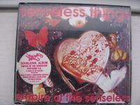 Senseless Things Double CD Album – Empire Of The Senseless + Postcard C.V. - USED, FREE POSTAGE