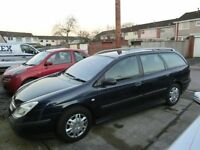 large estate car full MOT cam belt and water pump recently replaced good tyres,