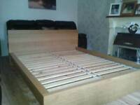 Ikea king Bed frame (delivery available)