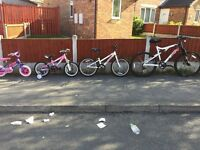 Well maintained bicycles for sale!!