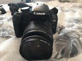 Cannon 450D DSLR digital camera - with extras and bag