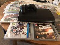 PlayStation 3 SLIM 500GB + games