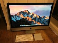 "iMac 27"" Late 2012 Quad-Core Intel i7 3.4GHz Fusion Drive Nvidia GTW 680MX 2GB"