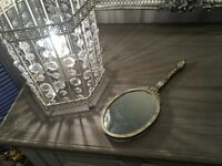 Beautiful vintage style dressing table hand mirror