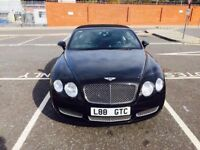 BENTLEY CONTINENTAL CONVERTIBLE 6.0 GTC FULL SERVICE HISTORY ONLY 54000 MILEAGE