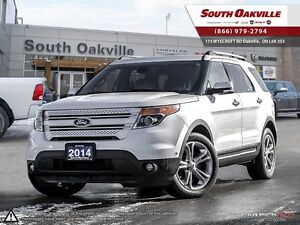 2014 Ford Explorer Limited | 4X4 | HEATED LEATHER | NAVIGATION |