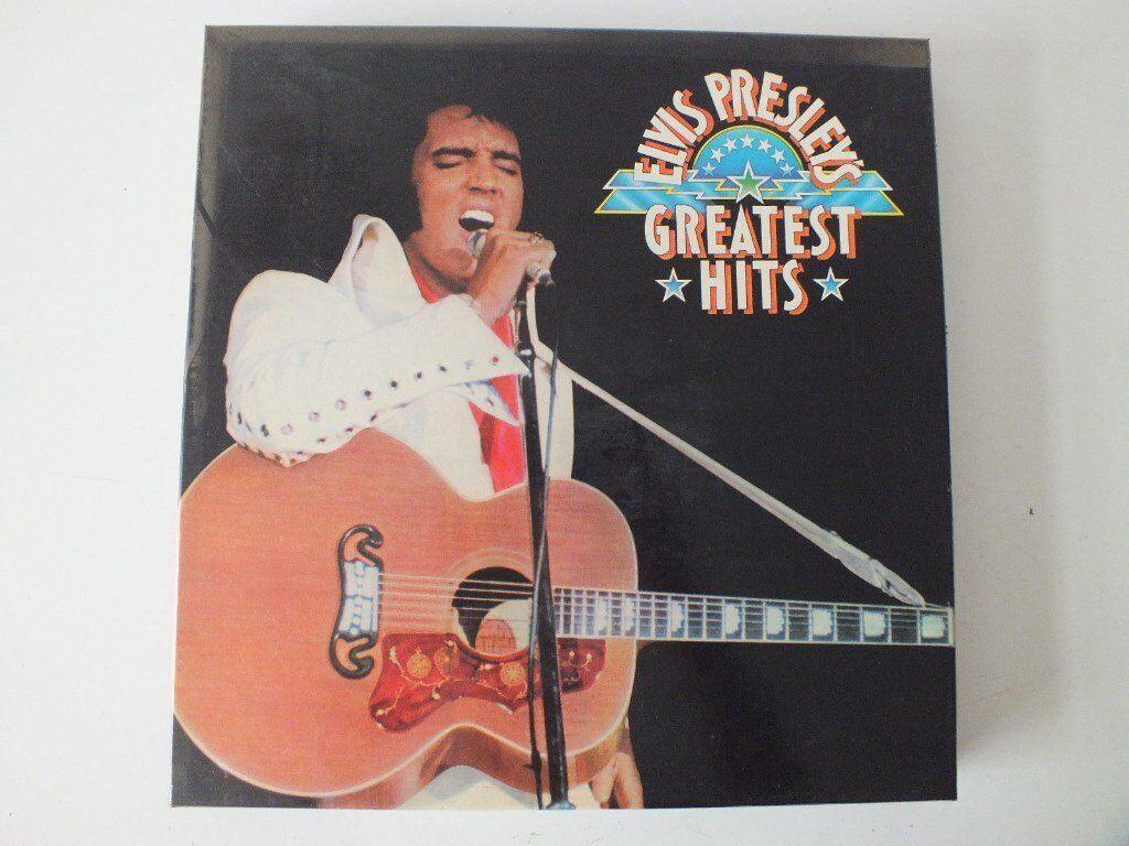 ELVIS PRESLEY GREATEST HITS - 6 LP BOXSET