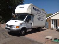 L@@k iveco Luton with tail lift low milage