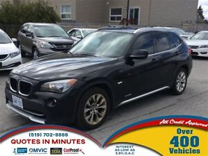 2012 BMW X1 xDrive28i | AWD | SUNROOF | LEATHER | HEATED SEATS