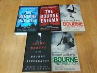 The Bourne Enigma, Initiative, Ascendancy, Retribution, Objective - 5 BOOKS