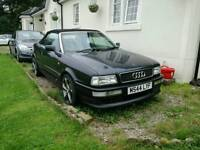 Audi 80 soft top project no mot runs drives stops lots of brand new parts parts with