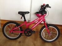 "Girls' Melody Ridgeback bike 16"" £25"