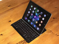 Apple iPad 2, 64Gb 4G plus Logitech Keyboard Cover - Swap For An iPhone 6 or 6 Plus