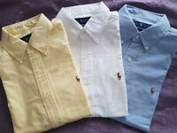 Ralph Lauren Polo Shirts - £30 each --> bought brand new from the US in the wrong size