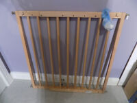 Baby Dan Wooden Baby Gate/Stair Gate