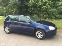 VW Golf Match 1.6 TSI . 5 door, metallic blue, 07 plate, only 42,000 miles.