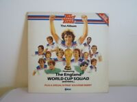 This Time - The Album The England World Cup Squad and More Vinyl Record with Souvenir