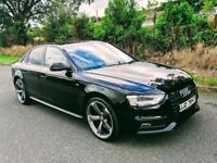 2013 Audi A4 2.0 Tdi S-Line ( BLACK EDITION STYLING )***FINANCE FROM £62 A WEEK***