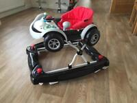 Car Baby Walker - Barely Used!