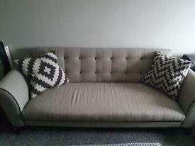 dfs grey sofa