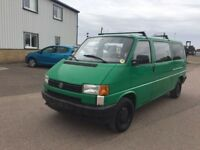 LEFT HAND DRIVE VOLKSWAGEN TRANSPORTER,DRIVES VERY WELL,GOOD LOAD SPACE,ENGINE & MECHANICS.CALL ME