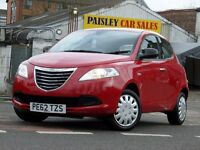2012 REG CHRYSLER YPSILON S 1.2cc 5 DOOR.