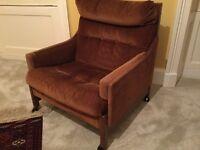 1960/70's Scandinavian style armchair