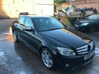 2008 c220 cdi sport amg sport automatic genuine low mileage light bumper damage bargain