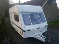 Immaculate Lunar Ariva Motor Mover awning