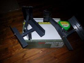 Wall mounted speaker brackets