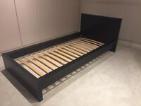 IKEA Bed Malm Bed Black-Brown Single