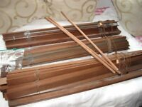 THREE WOODEN BLINDS IN GOOD CONDITION